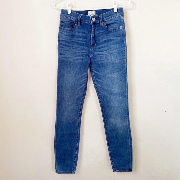 J. Crew Lookout High Rise Skinny Jeans 27